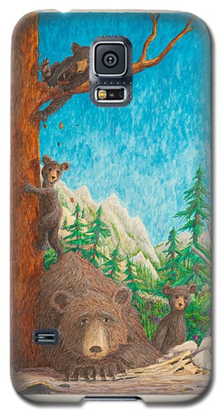 Galaxy S5 Case featuring the painting Momma by Matt Konar