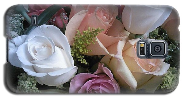 Moms Birthday Roses Galaxy S5 Case by Angelia Hodges Clay