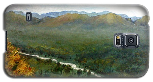 Galaxy S5 Case featuring the painting Mom's Valley by J L Zarek