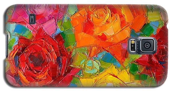 Mon Amour La Rose Galaxy S5 Case