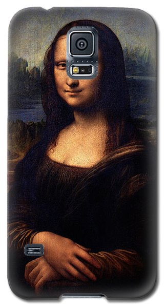 Galaxy S5 Case featuring the painting Mona Lisa II by Karon Melillo DeVega