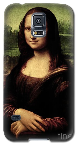 Mona Lisa Painting Galaxy S5 Case