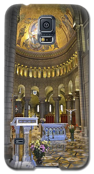 Galaxy S5 Case featuring the photograph Monaco Cathedral by Allen Sheffield