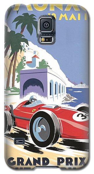 Monaco Grand Prix 1958 Galaxy S5 Case