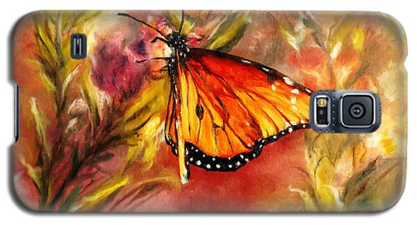 Monarch Beauty Galaxy S5 Case by Karen Kennedy Chatham