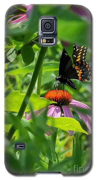 Monarch Butterfly Deep In The Jungle Galaxy S5 Case