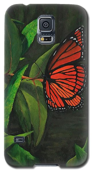 Viceroy Butterfly Oil Painting Galaxy S5 Case