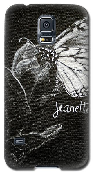 Monarch Butterfly On Milkweed Galaxy S5 Case