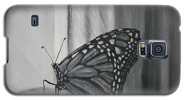 Monarch In The Window Galaxy S5 Case