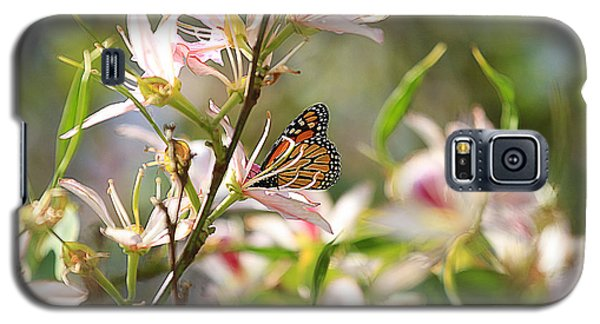 Galaxy S5 Case featuring the photograph Monarch by Kevin Ashley