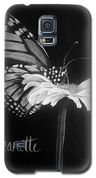 Monarch On A Daisy Galaxy S5 Case
