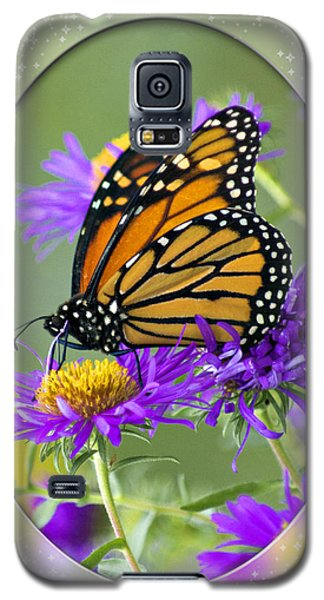 Monarch On Astor Galaxy S5 Case by Judy  Johnson