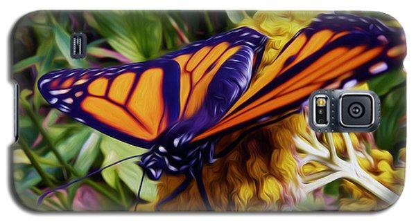 Monarch On Yarrow Galaxy S5 Case