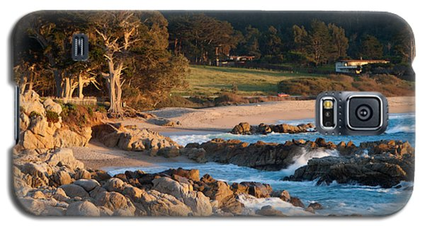 Monastery Beach In Carmel California Galaxy S5 Case