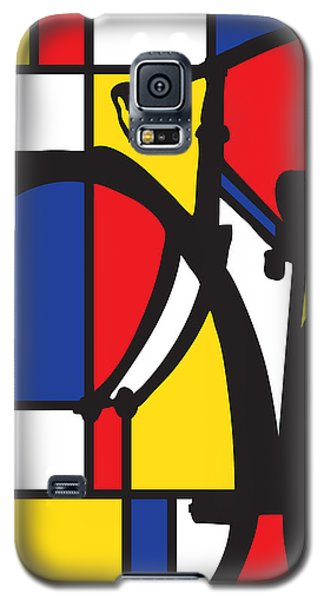 Mondrian Bike Galaxy S5 Case