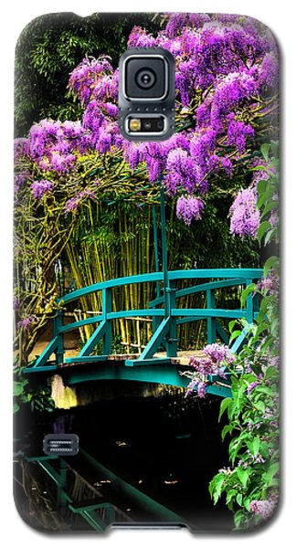 Galaxy S5 Case featuring the photograph Monet Bridge by Jim Hill