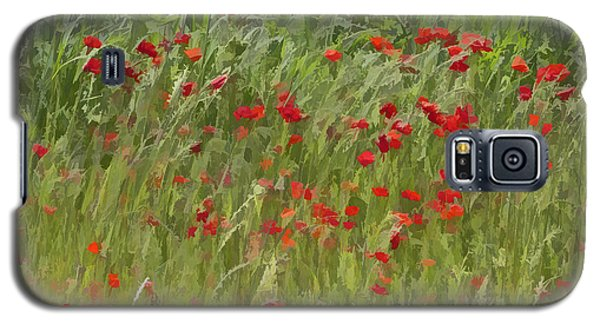 Monet Poppies IIi Galaxy S5 Case