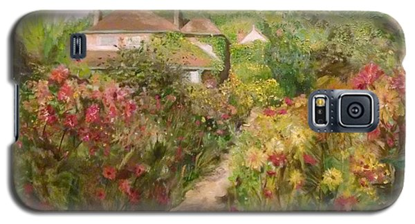 Monets Garden Fall Medley Galaxy S5 Case