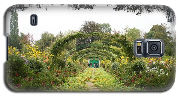 Galaxy S5 Case featuring the photograph Monet's Garden Giverny by Kristine Bogdanovich