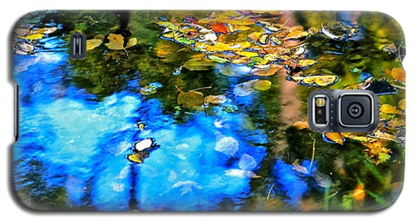 Galaxy S5 Case featuring the photograph Monet's Garden by Ira Shander