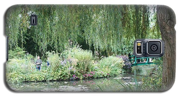 Galaxy S5 Case featuring the photograph Monet's Japanese Bridge by Kristine Bogdanovich