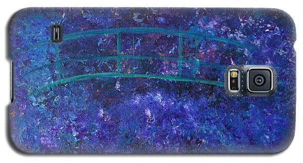 Galaxy S5 Case featuring the painting Monet's Place by Kristine Bogdanovich