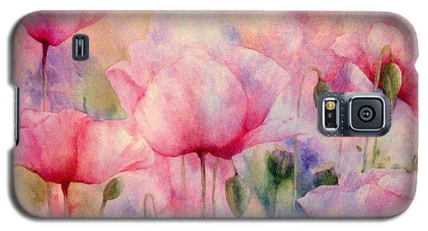 Monet's Poppies Vintage Warmth Galaxy S5 Case