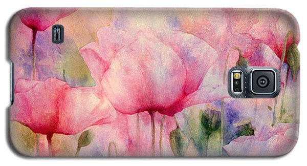 Monet's Poppies Vintage Warmth Galaxy S5 Case