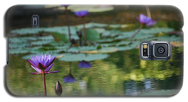 Monet's Waterlily Pond Number Two Galaxy S5 Case by Heather Kirk