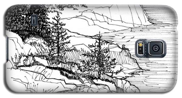 Monhegan Cliffs 1987 Galaxy S5 Case