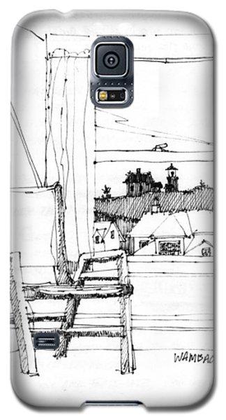 Monhegan Dawn Island Inn Galaxy S5 Case