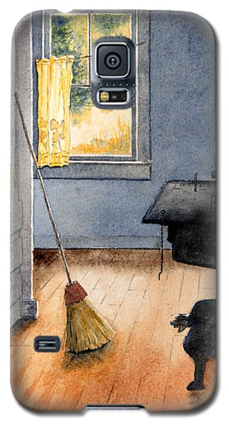 Monhegan Kitchen Galaxy S5 Case by Roger Rockefeller