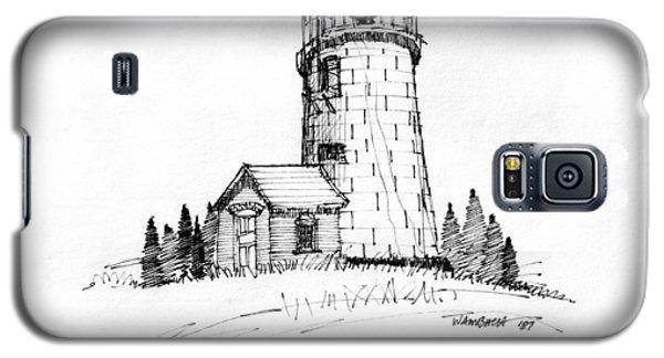 Monhegan Lighthouse 1987 Galaxy S5 Case
