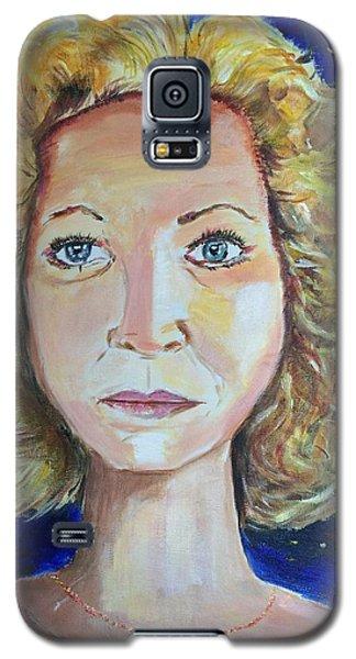 Monica 'marilyn' Siren  Galaxy S5 Case by Belinda Low
