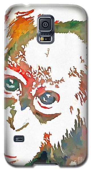 Monkey Pop Art Galaxy S5 Case