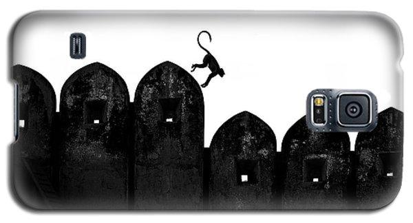 Castle Galaxy S5 Case - Monkey by Yasemin Bakan