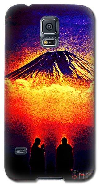 Monks In Prayer Galaxy S5 Case by Susanne Still