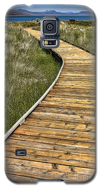 Mono Lake Boardwalk 2 Galaxy S5 Case