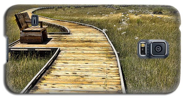 Mono Lake Boardwalk  Galaxy S5 Case