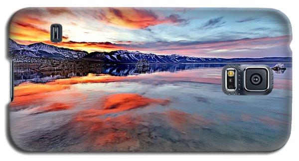 Mono Lake Sunset 2 Galaxy S5 Case