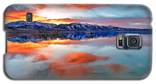 Mono Lake Sunset 3 Galaxy S5 Case