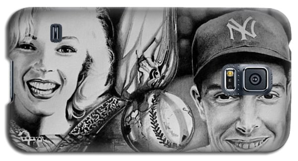Monroe And Dimaggio Galaxy S5 Case by Geni Gorani