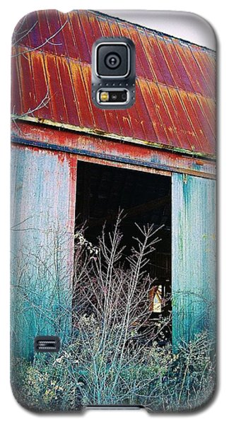 Galaxy S5 Case featuring the photograph Monroe Co. Michigan Barn by Daniel Thompson
