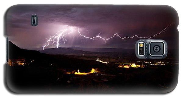 Monsoon Lightning In Jerome Az Galaxy S5 Case