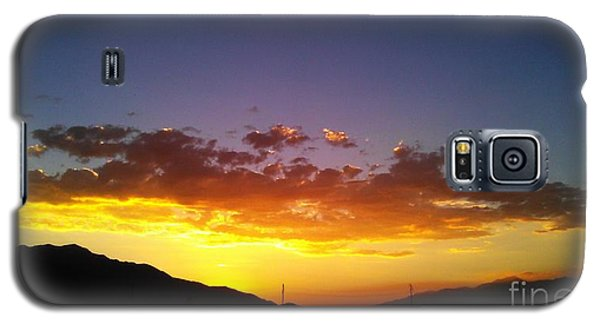 Galaxy S5 Case featuring the photograph Monsoon Sunset by Chris Tarpening