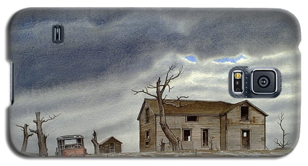 Truck Galaxy S5 Case - Montana Abandoned Homestead by Paul Krapf
