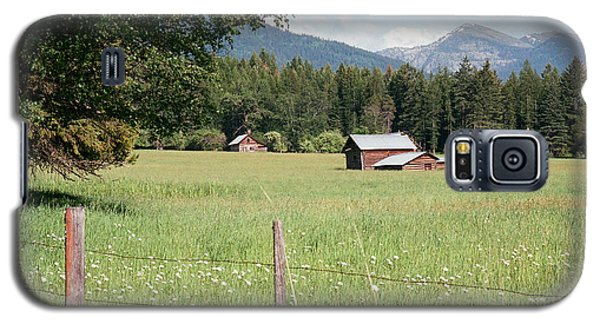 Montana Homestead Galaxy S5 Case by Vinnie Oakes