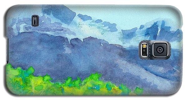 Montana Mountain Mist Galaxy S5 Case