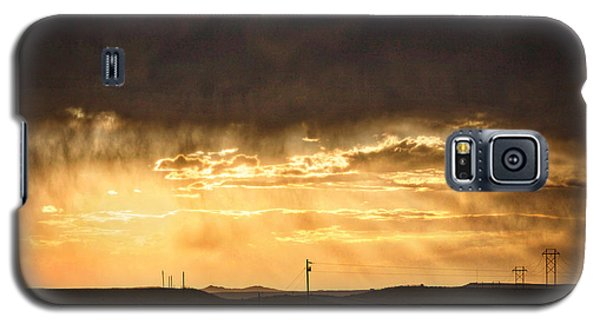 Montana Sky Storm Approach Galaxy S5 Case