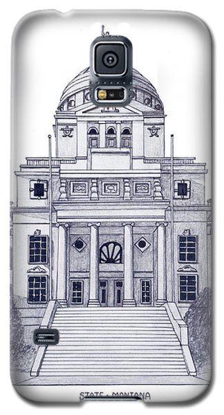 Montana State Capitol Galaxy S5 Case